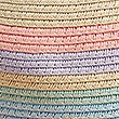 Kids' Straw Hat with Sun Smart UPF50+ (6 Months - 6 Years) , NATURAL MIX, swatch