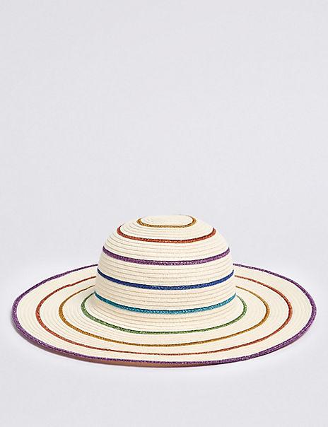 Kids' Rainbow Hat (3-14 Years)
