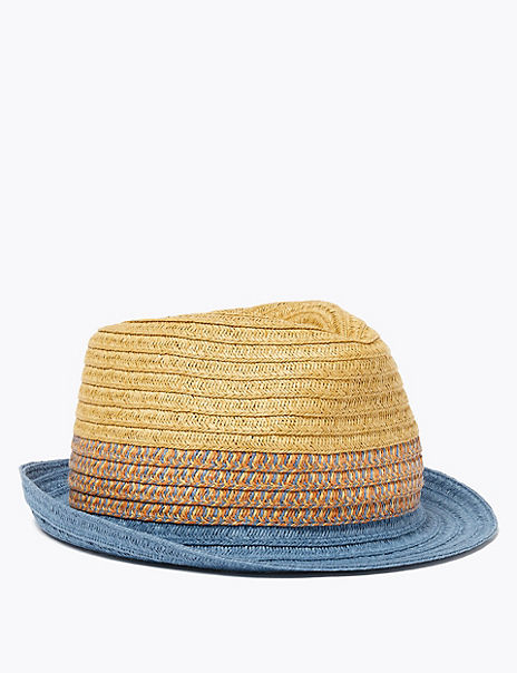 Kids' Texture Sun Hat (6-14 Years)