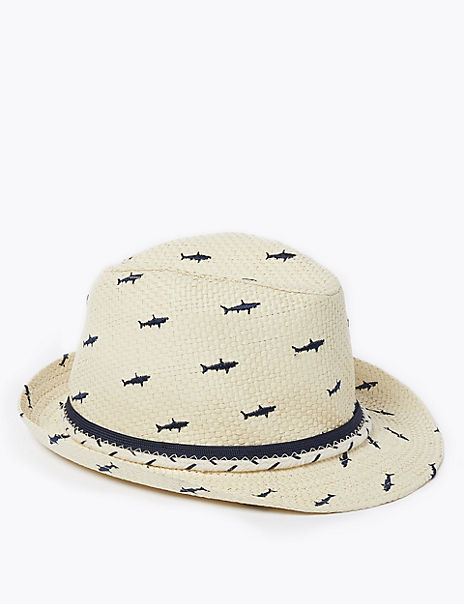 Kid's Shark Sun Hat (1-6 Years)