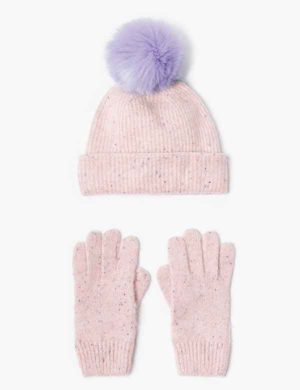 3d9ddffda Girls' Hats, Gloves & Scarves | Winter Hats for Girls | M&S