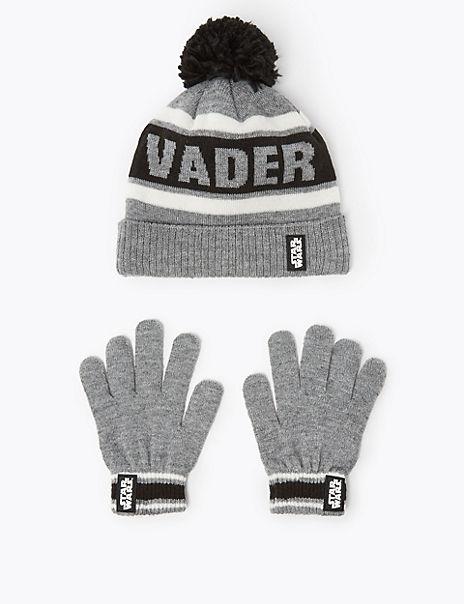 Kids' Star Wars™ Hat & Gloves Set (3-14 Years)