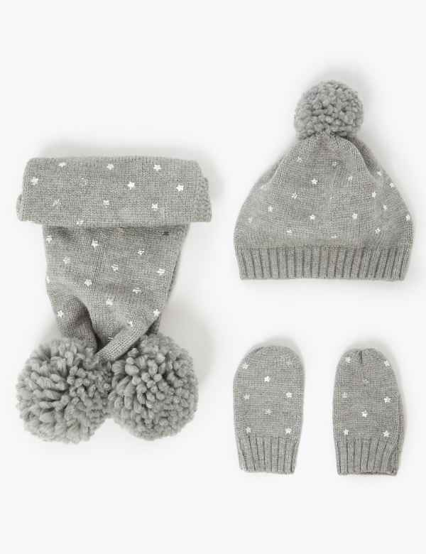 8c8cd362b Girls' Hats, Gloves & Scarves | Winter Hats for Girls | M&S