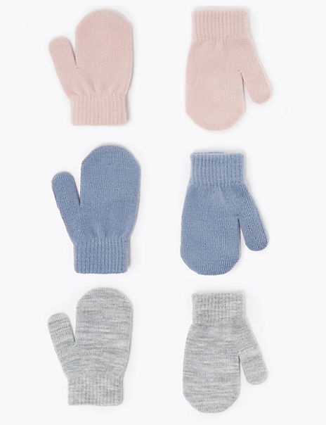 3 Pack Kids' Magic Mittens