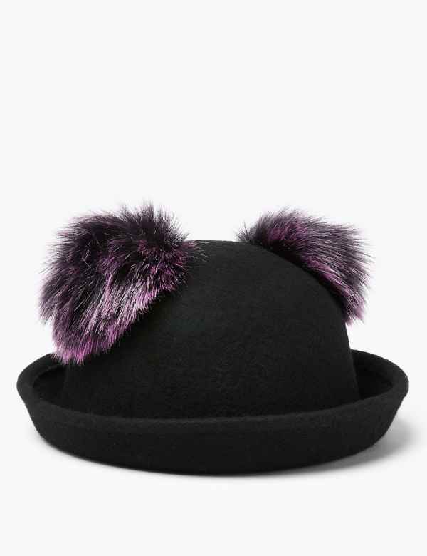 97081ade Kids' Wool Double Pom Felt Hat (6 Months - 14 Years)