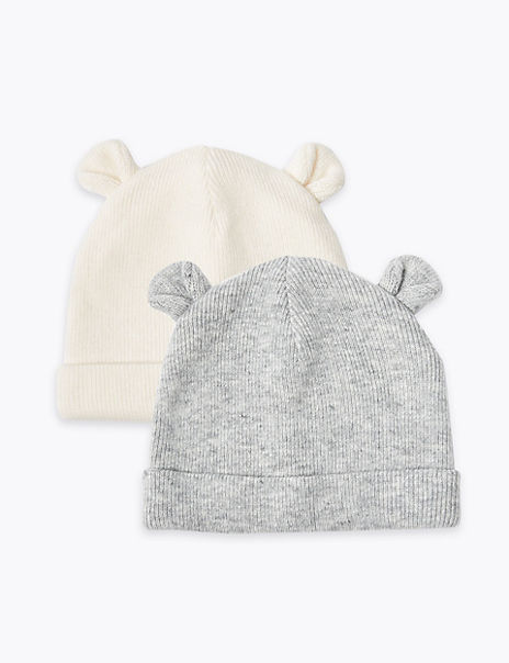 Baby 2 Pack Hats (0-12 Months)