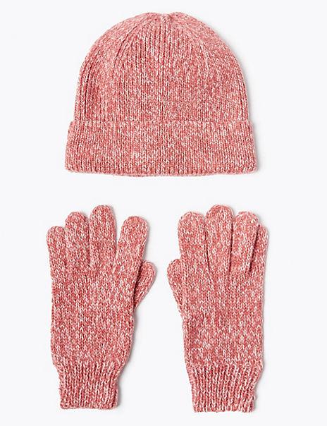 Kids' Fisherman Hat & Glove Set (3-14 Years)