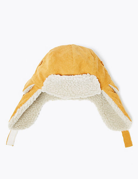 Kids' Cord Trapper Hat (6 Months - 6 Years)
