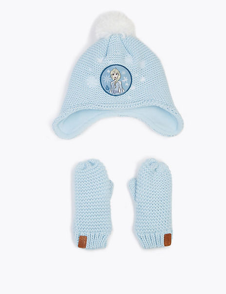 Kids' Disney Frozen™ 2 Hat & Mittens Set (18 Months - 10 Years)