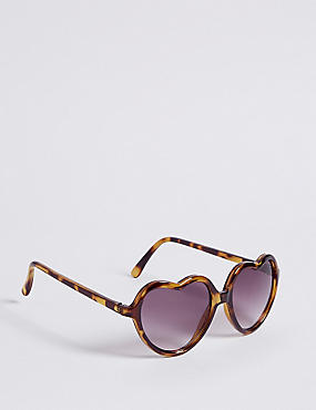 Heart Frame Sunglasses