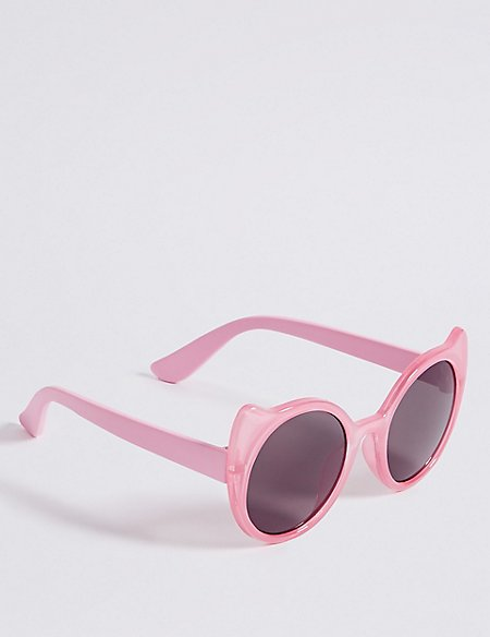 Smaller Frame Novelty Cat Ears Sunglasses
