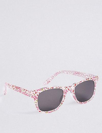 Smaller Frame Ditsy Print Sunglasses | Marks & Spencer London