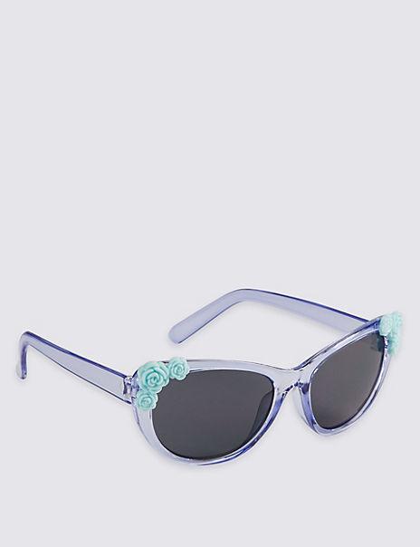 Kids' Flower Sunglasses (Younger Girls)