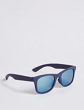 Matt Mirrored Sunglasses