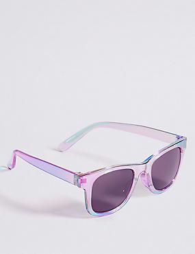 Smaller Frame Colour Block Sunglasses