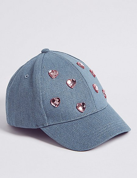 Kids' Heart Badge Baseball Cap (3-14 Years)