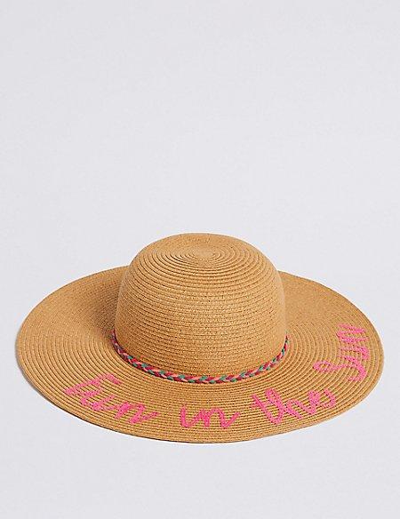 Kids' Summer Hat (6-14 Years)