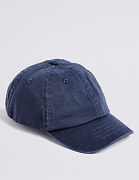 Kids' Pure Cotton Baseball Cap (3-14 Years)