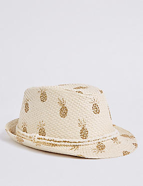 Kids' Pineapple Trilby Hat (6 Months - 6 Years)