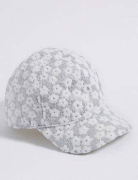 Kids' Sparkle Baseball Hat (3 Months - 6 Years)