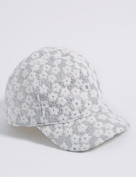Kids' Sparkle Baseball Hat (3 Months - 6 Years)