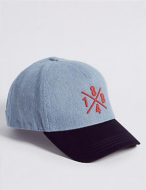 Kids' Texture Baseball Cap (3-14 Years)