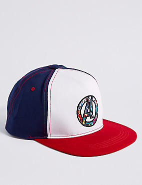 Kids' Avengers™ Pure Cotton Baseball Hat (3 - 14 Years)