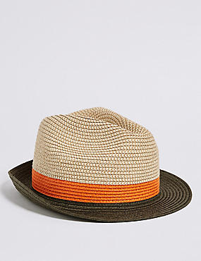 Kids' Trilby Summer Hat (3 - 14 Years)