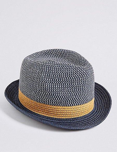 Kids' Trilby Summer Hat (6 Months - 6 Years)