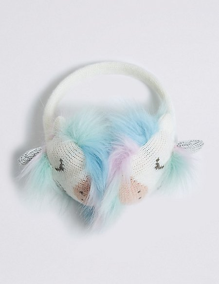 Kids' Novelty Unicorn Ear Muffs