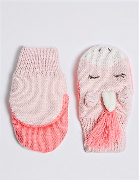 Kids' Unicorn Mittens