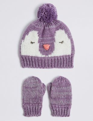 Girls Hats Gloves Amp Scarves Winter Hats For Girls M Amp S