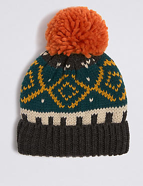 10cac47a22464 Kids  Fairisle Winter Hat (3-14 Years)