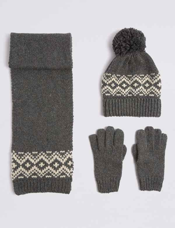 Hat scarf glove sets  5637adb4f55