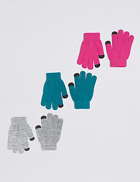 Kids' 3 Pack Magic Gloves