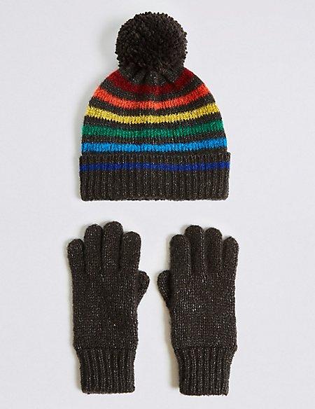 19543a7188899 Product images. Skip Carousel. Kids  Hat   Gloves Set