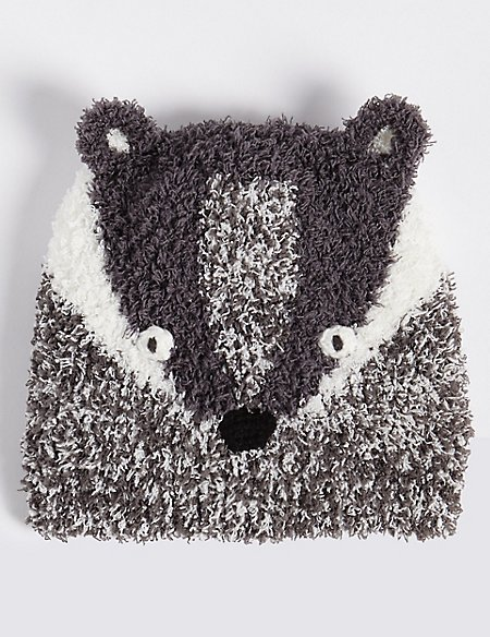 Kids' Novelty Badger Hat (3 Months - 6 Years)