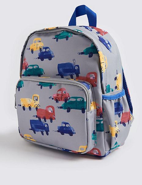 Kids' Transport Print Backpack