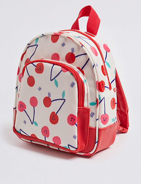 Kids' All Over Cherry Print Backpack