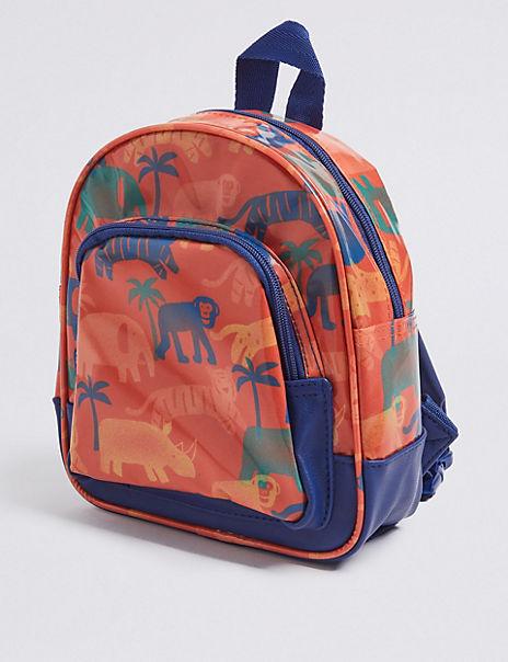 Kids' All Over Safari Print Backpack