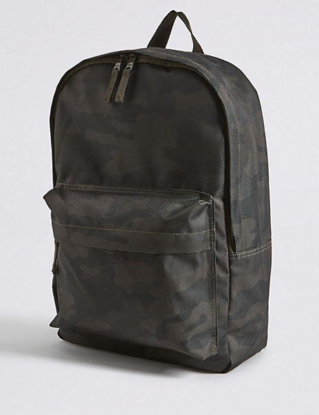 Kids' Camouflage Water Repellent Backpack