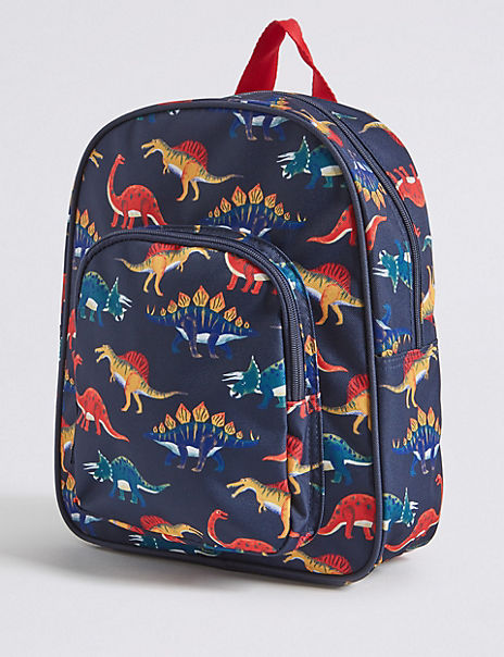 Kids' Dinosaur Water Repellent Backpack