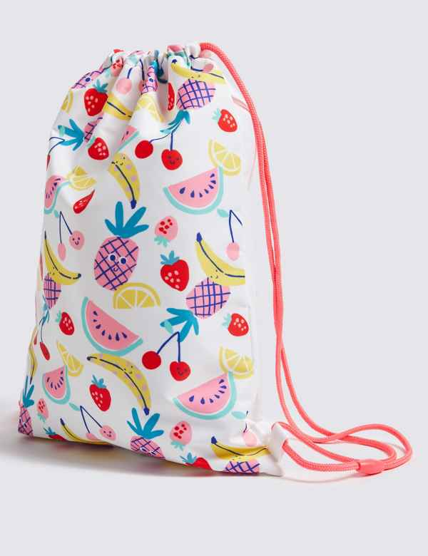 d232b25cbc0 Kids  Fruit Drawstring Bag