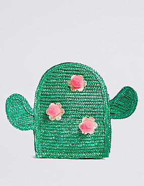 Kids' Cactus Cross Body Bag