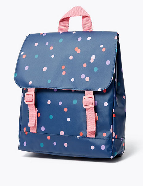 Kids' Spot Print Backpack