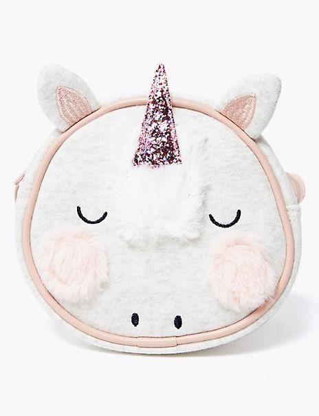 Kids' Unicorn Print Cross Body Bag