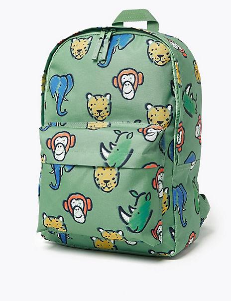 Kids' Animal Water Repellent Backpack