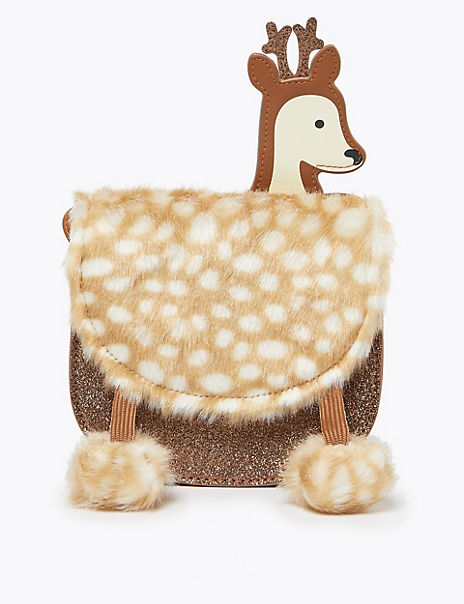 Kids' Reindeer Cross Body Bag