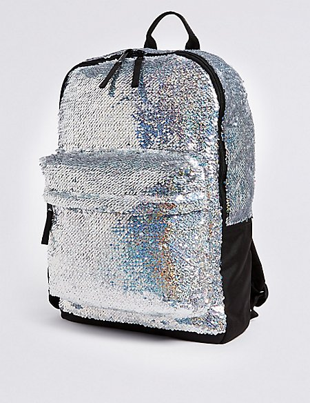 Kids' Sparkle Sequin Backpack