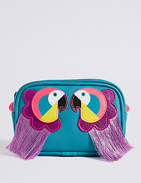 Kids' Novelty Parrot Cross Body